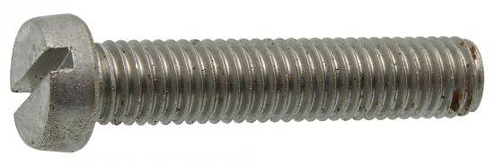 Vis métaux tête cylindrique fendue vis métaux tc