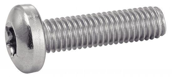 Vis métaux tête cylindrique torx vis métaux tc 6 lobes