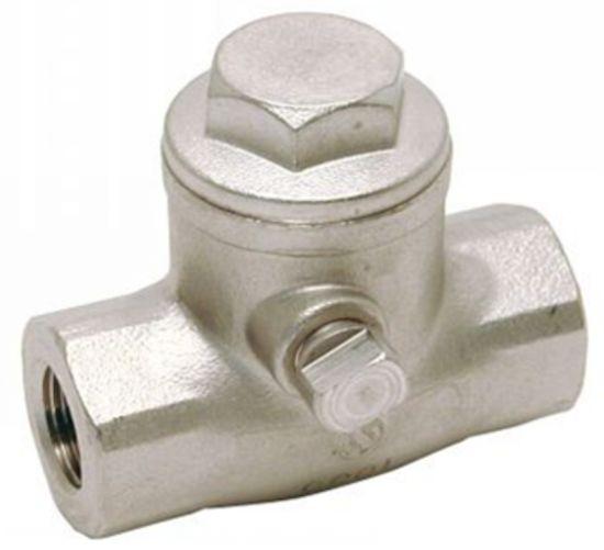 Clapet anti-retour à battant clapet taraudage gaz