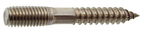 Patte à vis filetage bois et métaux patte à vis