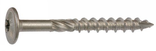 Vis de charpente tête plate large torx vis de charpente large 6 lobes