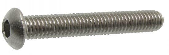 Vis métaux tête bombée six pans creux vis métaux tbhc
