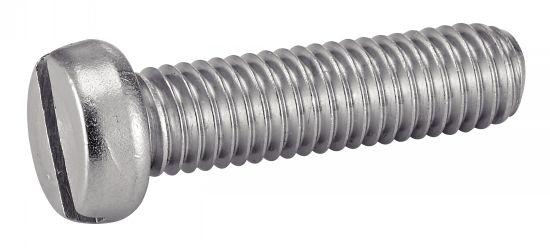 Vis métaux tête tête cylindrique fendue vis métaux tc