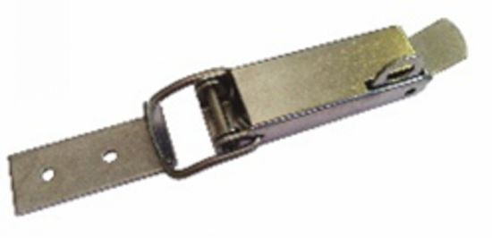 Fermeture à sauterelle porte cadenas fermeture