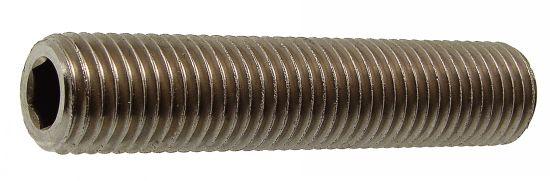 Vis métaux tête six pans creux bout cuvette vis métaux sthc cuvette