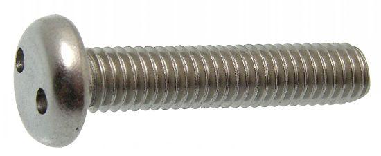 Vis métaux tête cylindrique snake eye inviolable vis métaux tc deux trous inviolable