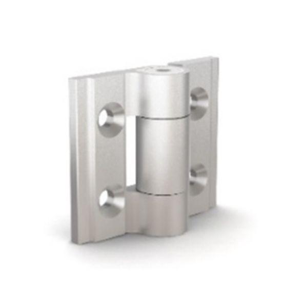 Charnière à friction réglable charnière aluminium - anodisé incolore
