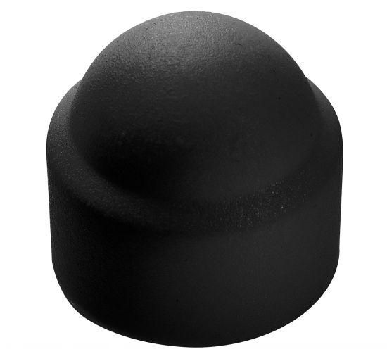 Cache écrou hexagonal noir cache tête hexagonal