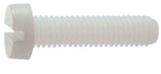 Vis métaux tête cylindrique large fendue vis métaux tcl