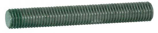 Tige filetée longueur 1 m tige filetée aluminium p40 brut