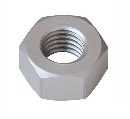 Ecrou hexagonal hu ecrou aluminium p40 brut