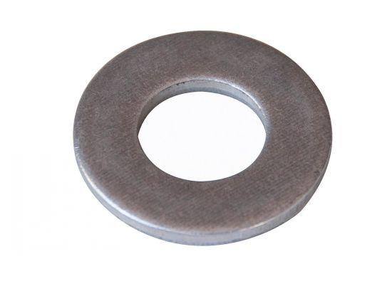 Rondelle plate moyenne découpée rondelle mu aluminium ag3 brut