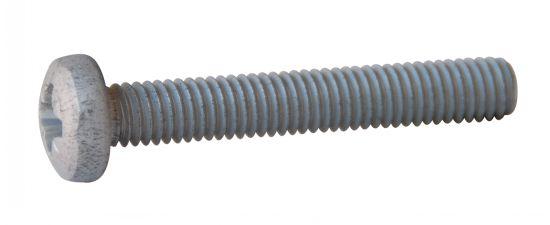 Vis à tête cylindrique pozi vis métaux tc pz aluminium p60 finition aoi (anodisé incolore)