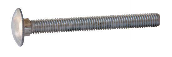 Vis métaux tête ronde collet carré vis métaux trcc aluminium p40 brut