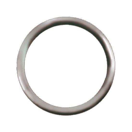 Anneau rond anneau soudé