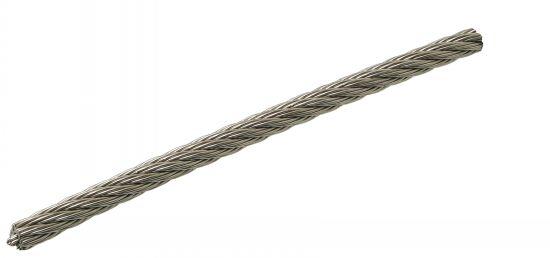 Câble souple 7x7 câble souple 7 torons de 7 fils
