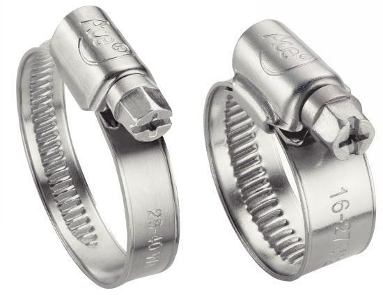 Collier bande pleine w1 collier de serrage 9-12 mm