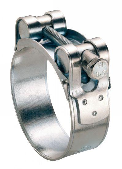 Collier à tourillons w1 collier de serrage pour tuyau épais et armé