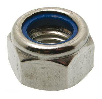 Ecrou hexagonal indésserable ecrou frein nylstop
