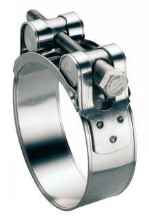 Collier à tourillons w4 collier de serrage pour tuyau épais et armé