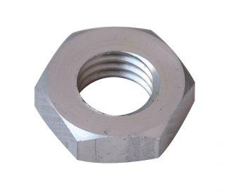 Ecrou hexagonal hm plat ecrou aluminium p60 finition aoi (anodisée incolore)