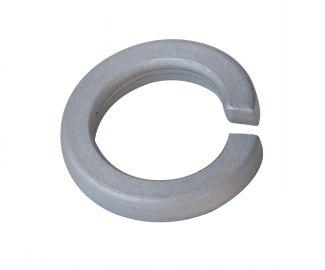 Rondelle grower rondelle frein aluminium p60 finition aoi (anodisée incolore)