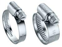 Collier bande pleine w4 collier de serrage 9-12 mm