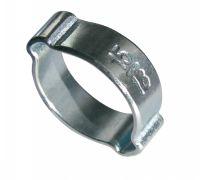 Collier à deux oreilles w1 collier de serrage